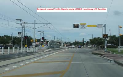 Designed Traffic Signals alongMetro Harrisburg LRT Corridor